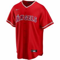 Men's Los Angeles Angels Shohei Ohtani #17 Nike Scarlet 2020 Alternate Replica Jersey