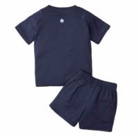 Manchester City Kid's Soccer Jersey Third Away Kit(Jersey+Short) Replica 2021/22