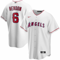 Men's Los Angeles Angels Anthony Rendon #6 Nike White Home 2020 Replica Jersey