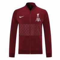 Liverpool Training Jacket Purplish Red 2021/22