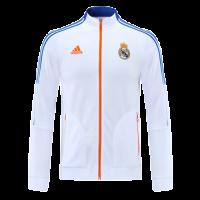 Real Madrid Anthen Jacket White 2021/22