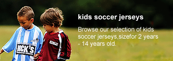 Children Soccer Jersey Kits